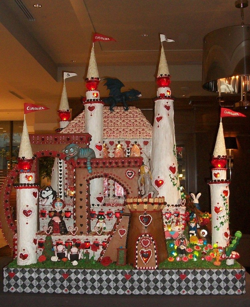 Queen of Hearts Castle at the Sheraton's Gingerbread Village