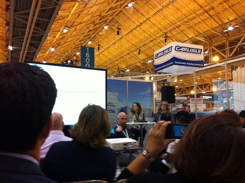 Educational Sessions held on the floor of the expo hall.