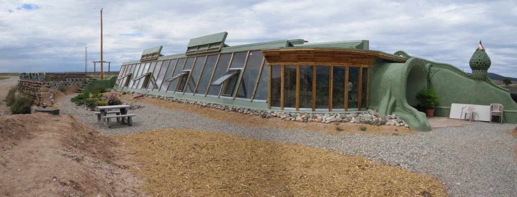 Earthship, New Mexico