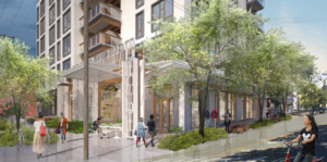Weber Thompson's Pike Passive project - a new, 42-unit apartment building in Capitol Hill