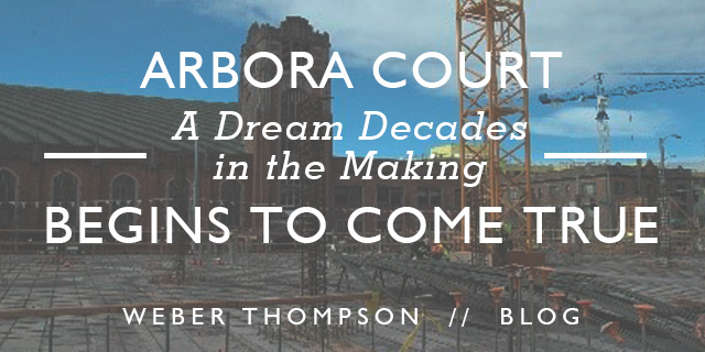 A Little Over Three Years Ago, Bellwether Housing Invited Weber Thompson To  Partner In The Design And Development Of A Piece Of Land Owned By  University ...