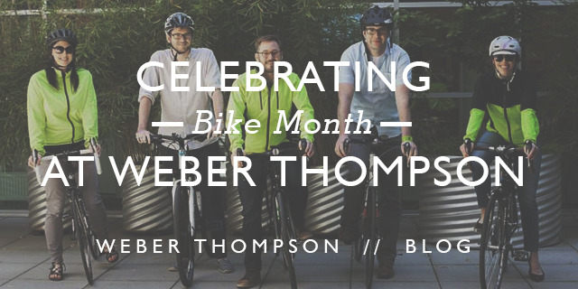 Bike Month at Weber Thompson