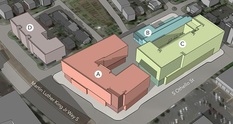 Othello Square Site Plan
