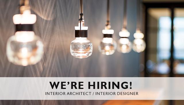 We Re Hiring Interior Architect Interior Designer A Breath Of Fresh Air