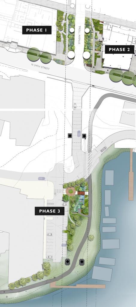 Aurora Bridge Bioswales Project graphic