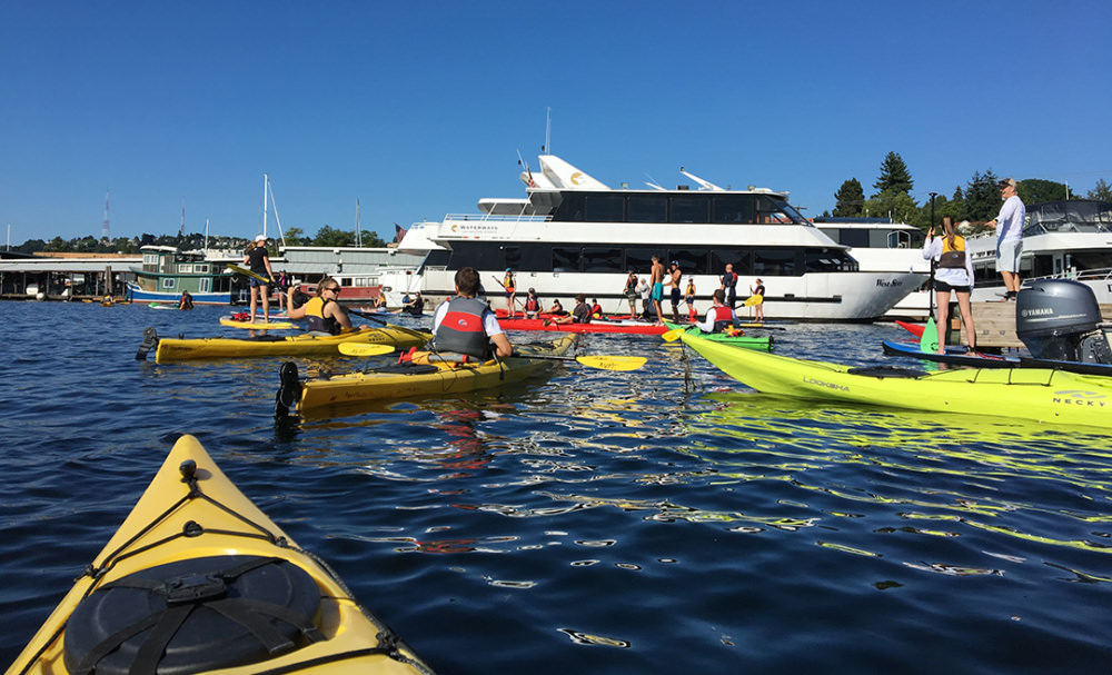 Photo of Clean Lake Union race